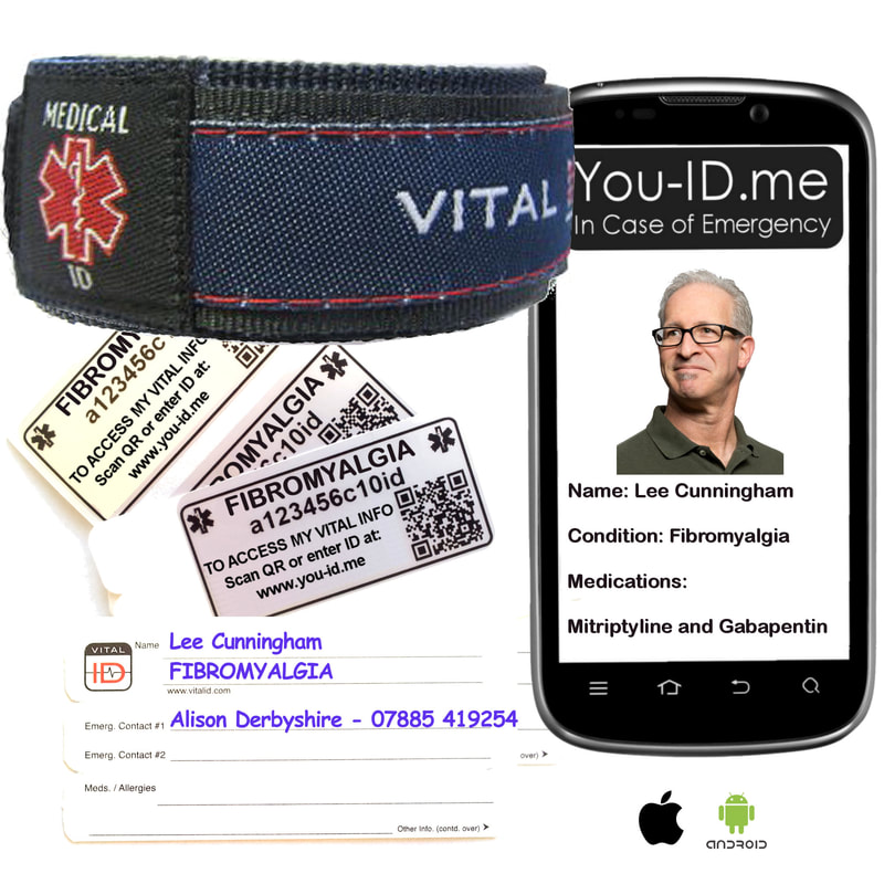 People with fibromyalgia are recommended to carry emergency ID. Our Fibromyalgia medical alert bracelet is an ideal form of identity for people with FMS. It alerts your next of kin in an emergency.