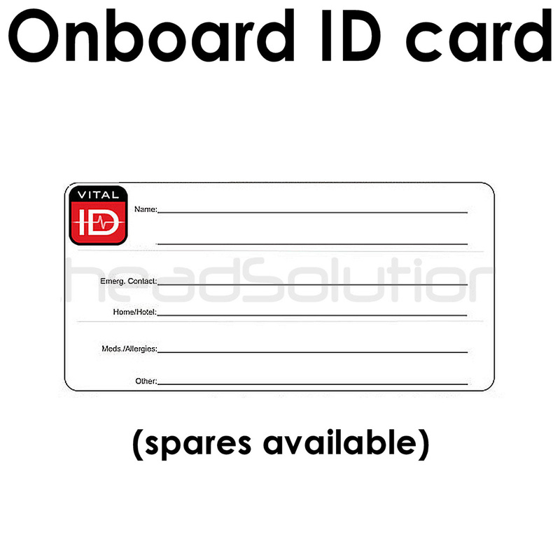 Identity card is fully waterproof