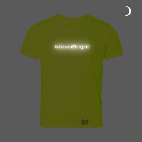 MovoBright Reflective emergency ID integrated run cycle top smartphone friendly