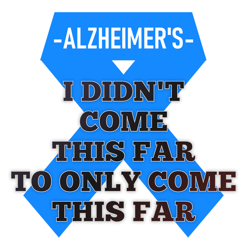 Alzheimer's logo, ribbon emblem design, raise money for alzheimer's disease. gifts, presents, what can I buy someone with alzheimer's disease.