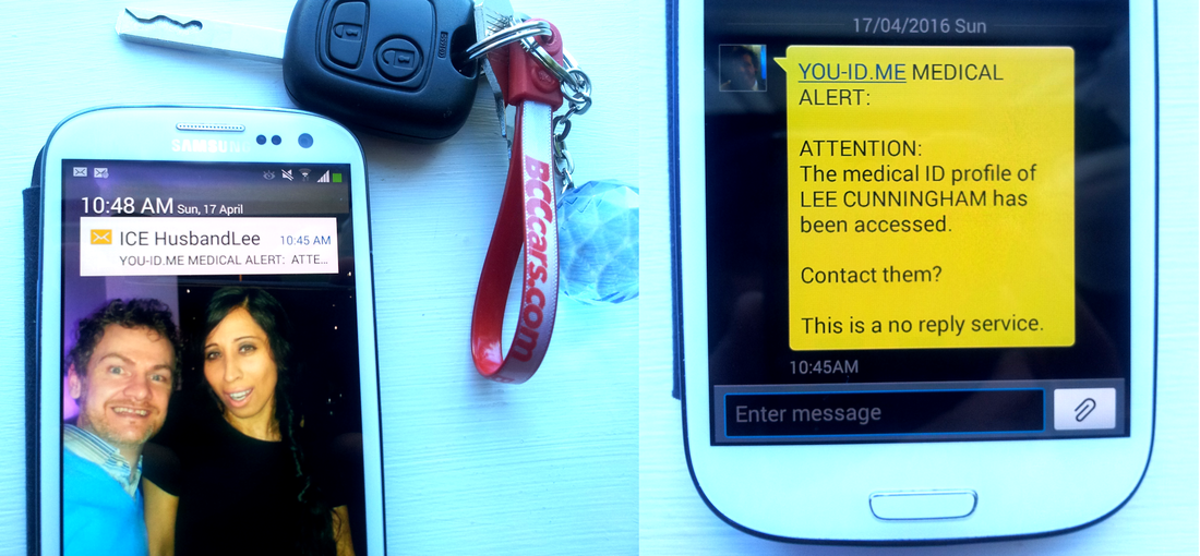Hiints and tips for setting up SMS text my Contacts. SMS alerts for emergency ID use Medical